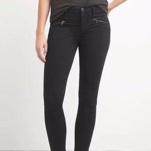 GAP 1969 True Skinny High Rise Jeans w/ Ankle Zip